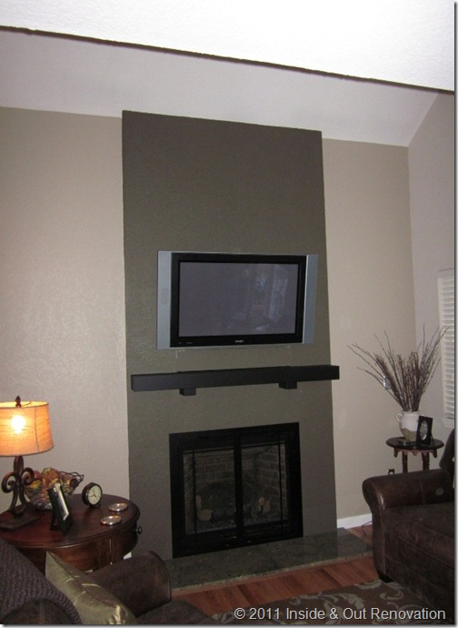 Hiding Cable Box Over Fireplace 2015 | Home Design Ideas